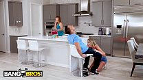 BANGBROS - Alexis Adams Wants Her BF's Bareback Dick Inside Of Her, But Mom Is Watching
