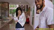 9203 Gorgeous asian beauty drilled by huge bbc preview
