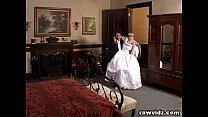 Newly Wed Bride Gets Dominated Nasty Dp Fuck Thumbnail
