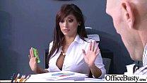 Sex Tape In Office With Slut Nasty Big Melon Tits Girl (reena sky) vid-28