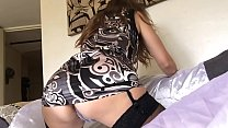 Sexy O2, T&A 456 - Sexy Milf in Satin Panty