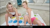 Screenshot Petite Blonde T een Stepsister Riley Star And  Riley Star And He