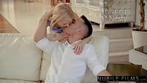Sensual Lingerie Fuck With Petite Blonde Nesty - S36:E27