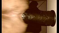 15 Inch Dildo  King Cock 15 Balls Deep In My Bu