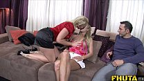 Fhuta -  Russian daughter learn from dad's friend - 69VClub.Com