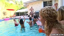 Pool Sex Party