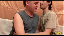 Homosexual boys fuck hardcore bareback
