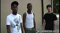 Blacks On Boys - Gay Interracial Fuck Video 07