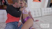 Blonde Teen Slut Fucked Hard on Hookup Hotshot Vorschaubild