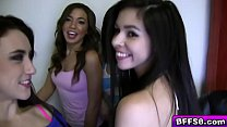 Gorgeous babes knows how to get banged