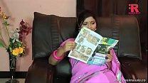 desimasala.co - Lonely sashi aunty feeling horny by reading porn magazine
