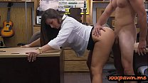 Big ass lady screwed by nasty pawn dude