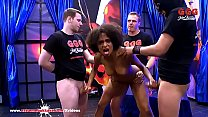 Sexy ebony Latina Luna Corazon moans in pleasur... Thumbnail