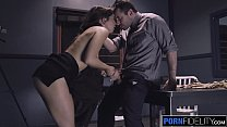 PORNFIDELITY Riley Reid Squirts All Over James Deen thumbnail
