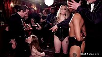 Orgy blowjobs and oral sex in bdsm party