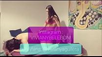 Travesti Viviany Aguilera fodendo o cuzinho do menino que conheceu no Tinder - Instagram @VIVIANYBELEBONI -