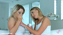 Image: Anal preparation lesbian scene with Ivana Sugar and Sienna Day by Sapphix