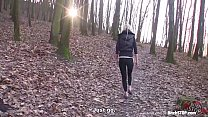 Bitch STOP - Joana White get fucked in the park thumbnail