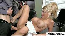 (kayla kayden) Busty Hot Girl Hardcore Bang In Office movie-22
