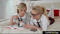 love scene on cam with horny lesbo teen girls (haley reed & bailey brooke) video | 13 thumbnail