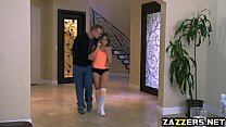 Kimmy Granger bends over and gets fuck by Bill Bailey