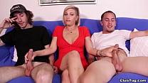 2 Teen Boys Milked By MILF – Kaylynn from ClubTug