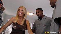 Erica Lauren Interracial Anal Gangbang - killer dildo thumbnail