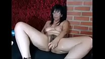 Chubby Busty Latina Mother Dildoing Her Pussy on MILFWebcamShow.com