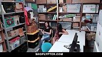Shoplyfter - Cute BFFS Blackmailed & Fucked Vorschaubild