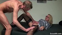 German Big Tit MILF Seduce her Personal Trainer to Fuck Vorschaubild