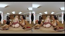 Naughty America - Anna Claire Clouds and Jazmin Luv put on a show for you
