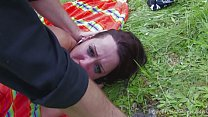 A Perfect Picnic Ends In Hard Anal