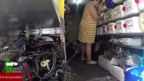 Changes and repairs to the bottom. Homemade ama...