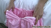 Put on this sexy French maid uniform porn thumbnail