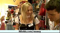 Money does talk for a nasty whore 21 Preview