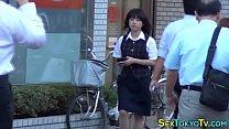 Japanese babe watched image