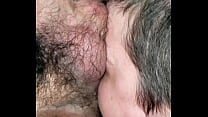 Facefucking pussy creampie