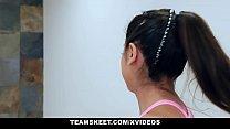 TeamSkeet - Big Tit Teen (Ella Knox) Fucked on Treadmill
