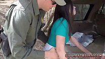 Tattooed big tits and cheerleader police Pale Cutie Banging on the