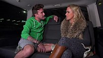 Big Titty Milf Airport Pick up and Fuck with Mea Melone behind the cam