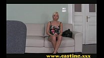 Casting - Mesmerising blonde and anal play thumbnail