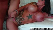 RealMomExposed - Beautifully tattooed and horny Deja Voo. thumbnail