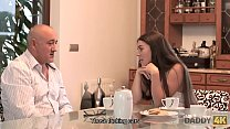 14241 DADDY4K. Dirty girl experiences fantastic sex on sofa with old lover preview