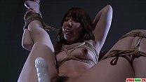 Full bondage in scenes of erotic porn for Rina Uchimura - More at Japanesemamas com