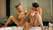CrushGirls - Peta Jensen and Alix Lynx are horny in the bubble bath