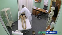 FakeHospital Hot girl with big tits gets doctors treatment before squirting Vorschaubild