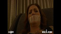 Busty Sub Gagged and Humiliated
