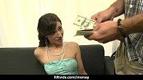 Amateur has sex for some quick cash 13