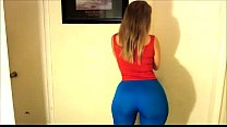 Mal Malloy ( my love!) in Blue leggings! - Pornhub.com