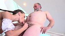 Old-n-Young.com - Lita Phoenix - Sexy maid serves old man صورة